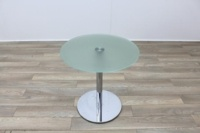 Brunner Glass Round Coffee Table - Thumb 3