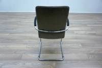 Kusch Co Beige Fabric Cantilever Office Meeting Chairs - Thumb 5