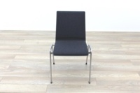 Brunner Dark Grey Fabric Seat Meeting Chair - Thumb 4
