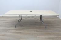 Maple 2400mm Rectangular Office Meeting Table - Thumb 4