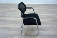 Sitland PK Passe Partout Black Mesh Office Meeting Chairs - Thumb 4