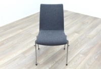 Brunner Light Grey Fabric Meeting Chair - Thumb 2