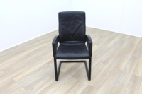 Sitag High Back Black Leather Executive Office Meeting Chair - Thumb 3