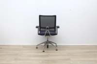 Sedus Meeting Chair With Mesh Back And Chrome Legs - Thumb 4