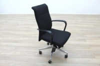 Kusch Co Black Fabric High Back Multifunction Office Task Chair - Thumb 5