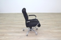 President Black Fabric Executive Office Task Chair - Thumb 5