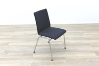 Brunner Dark Grey Fabric Seat Meeting Chair - Thumb 5