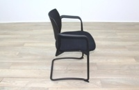 Torasen Polymer Back Black Fabric Seat - Thumb 6