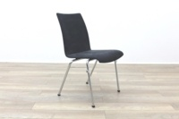 Brunner Grey Velour Meeting Chair - Thumb 5
