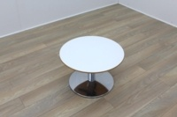 Allermuir White Top Cherry Edge Coffee Table - Thumb 2