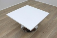 White Square Table - Thumb 2