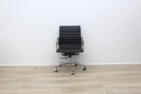 Black Leather Elite Executive Chair - Thumb 2