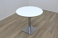 White Round Table 800mm - Thumb 2