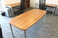 Walnut Meeting Table - Thumb 4