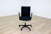 Vitra Axess Black Fabric Office Task Chairs - Thumb 2
