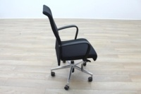 Kusch Co Black Fabric High Back Multifunction Office Task Chair - Thumb 6