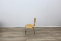 Wooden Canteen Chairs With Chrome Legs - Thumb 4