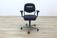Ahrend Blue Fabric Operator Chair - Thumb 4