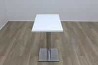 White Square Coffee Table 750mm - Thumb 2