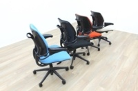 Recovered Humanscale Freedom Office Task Chairs - Thumb 5
