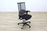 HAG H09 Inspiration Black Fabric Executive Office Task Chair - Thumb 2