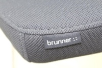 Brunner Black Mesh Back Grey Fabric Seat Meeting Chair - Thumb 8