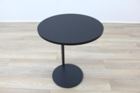 Brunner Black Round Coffee Table - Thumb 3