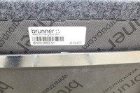 Brunner Grey Fabric Stool - Thumb 8
