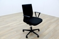 Vitra Axess Black Fabric Office Task Chairs - Thumb 6