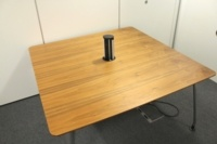 Verco Meeting Table With Cable Management And Chrome Legs - Thumb 4
