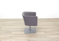 Grey Fabric Office Reception Tub Chairs - Thumb 6