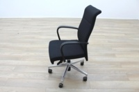 Kusch Co Black Fabric High Back Multifunction Office Task Chair - Thumb 3