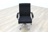 President Black Fabric Executive Office Task Chair - Thumb 2
