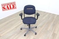 Ahrend Blue Fabric Operator Chair - Thumb 2