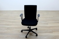 Vitra Axess Black Fabric Office Task Chairs - Thumb 3