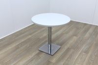 Grey Round Table 800mm - Thumb 2