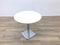 Cream Round Table 800mm - Thumb 3