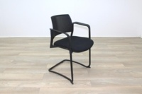 Torasen Polymer Back Black Fabric Seat - Thumb 5