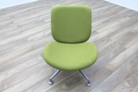Orangebox Track Green Fabric Office Reception Tub Chairs - Thumb 3
