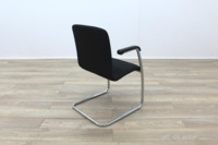 Black Fabric Meeting Chairs - Thumb 7