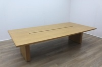 Sven Christiansen Solid Oak Office Meeting Table - Thumb 2