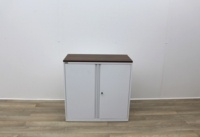 White Triumph Double Door Cupboard - Thumb 2