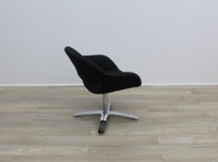 Black Fabric Kusch Co Volpe Meeting Chairs - Thumb 5