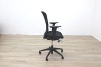 Orangebox Joy-12 Black Mesh / Fabric Office Task Chairs - Thumb 6