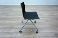 Aper Catifa 46 Black Plastic Office Meeting Chairs - Thumb 4