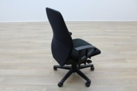Black Fabric Multifunction Office Task Chairs - Thumb 6