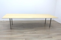 Golden Maple Veneer Office Meeting Table - Thumb 4
