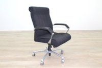 President Black Fabric Executive Office Task Chair - Thumb 4