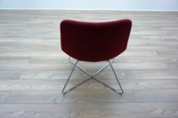 OrangeBox AVI Red / Grey Office Reception Lounge Chairs - Thumb 5