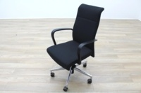 Kusch Co Black Fabric High Back Multifunction Office Task Chair - Thumb 4